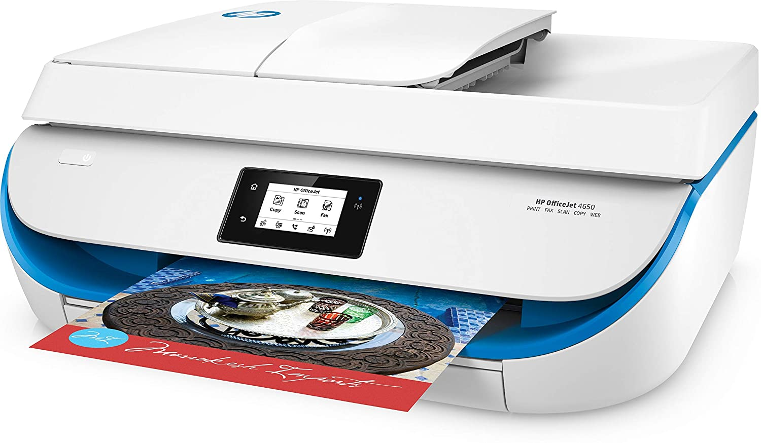 HP OfficeJet 4650 All-in-One Printer - Impresora multifunción ...