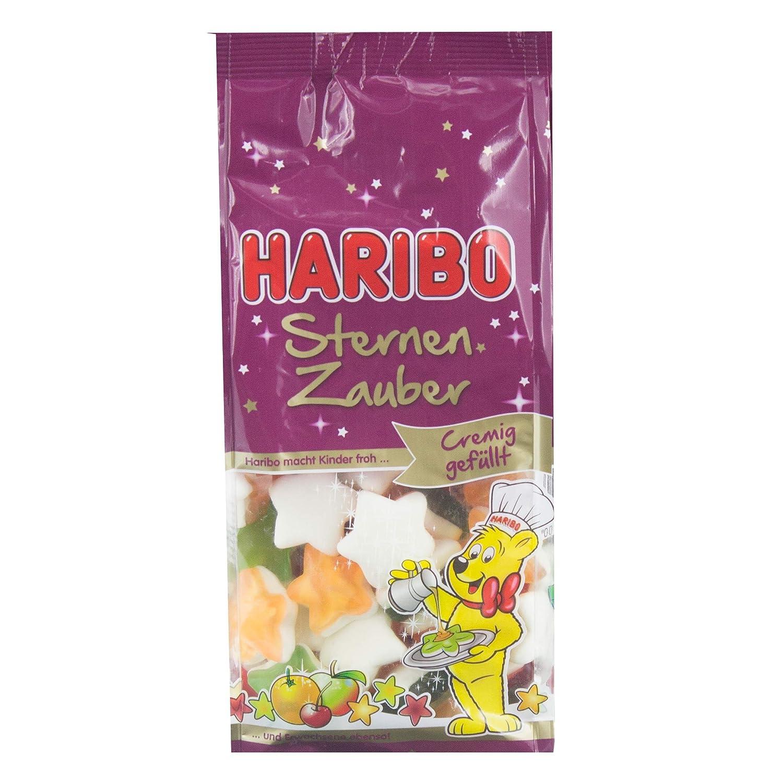 Haribo Navidad Golosinas, Juego de 3, estrellas mágica, goma espuma Osos, azúcar, bolsa, 250 gramos Bolsa: Amazon.es: Alimentación y bebidas