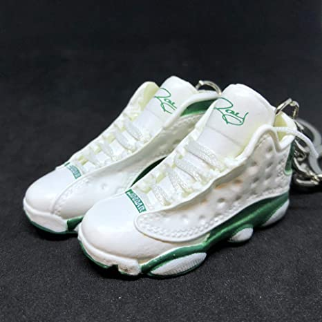 reputable site 7b436 f1800 Amazon.com : Pair Air Jordan XIII 13 Retro Sugar Ray Pe ...