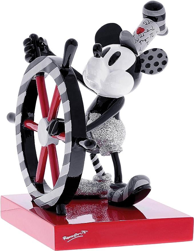 Rouge Blanc Noir 105 x 80 x 180 cm r/ésine Disney Britto Figurine