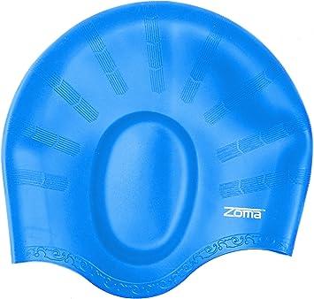 1 Original gorro de natación de silicona para mujeres y hombres ...