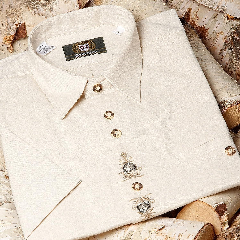Orbis Textil H007 - Trachten Herren Hemd mit 1/2-Arm