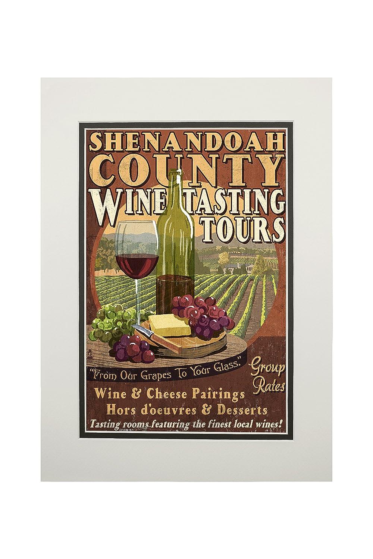 美しい Shenandoah LANT-56739-11x14M、バージニア州 – Wine Tasting Matted Vintage x Sign 11 x 14 Matted Art Print LANT-56739-11x14M B06XZYGXSX 11 x 14 Matted Art Print, 園芸百貨店何でも揃うこぼんさい:6f1b3325 --- mcrisartesanato.com.br