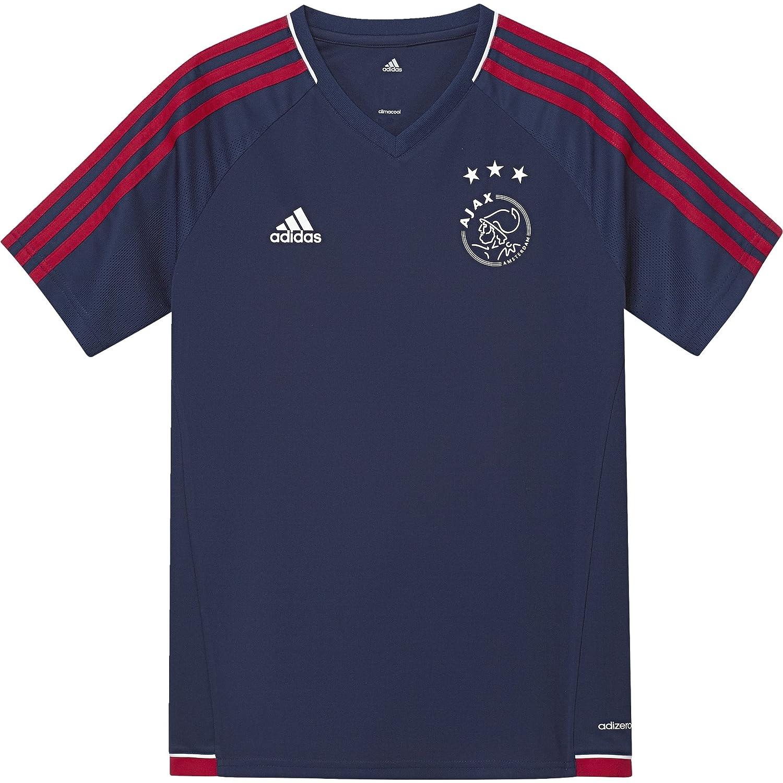 2017-2018 Ajax Adidas Training Shirt (Dark Blue) Kids B071LKCY7NBlue Small Boys 26-28\