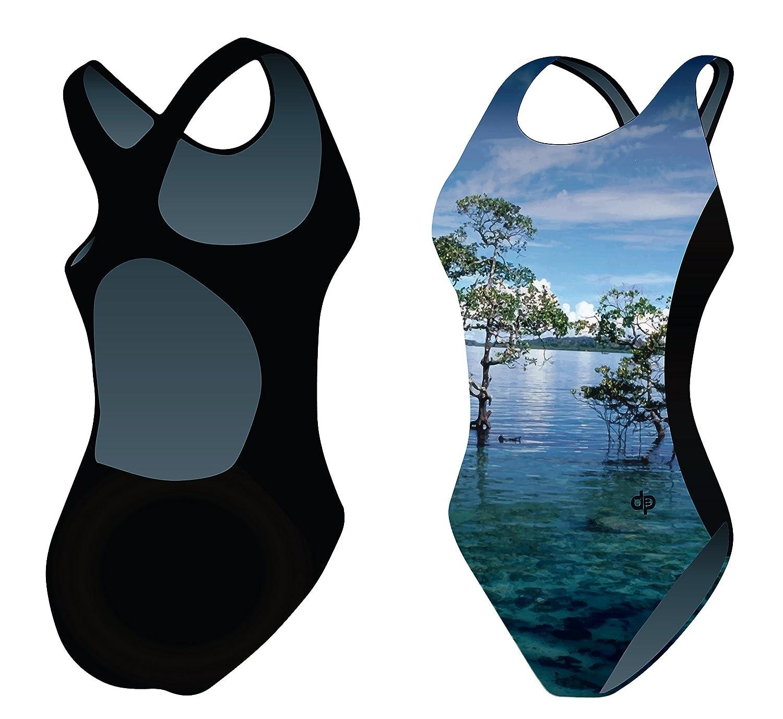 Diapolo Landscape Badeanzug Nature Kollektion für Schwimmen Synchronschwimmen Wasserball Thriathlon