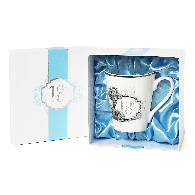 ME TO YOU BEAR TATTY TEDDY 18TH BIRTHDAY MUG BLUE BOX GIFT