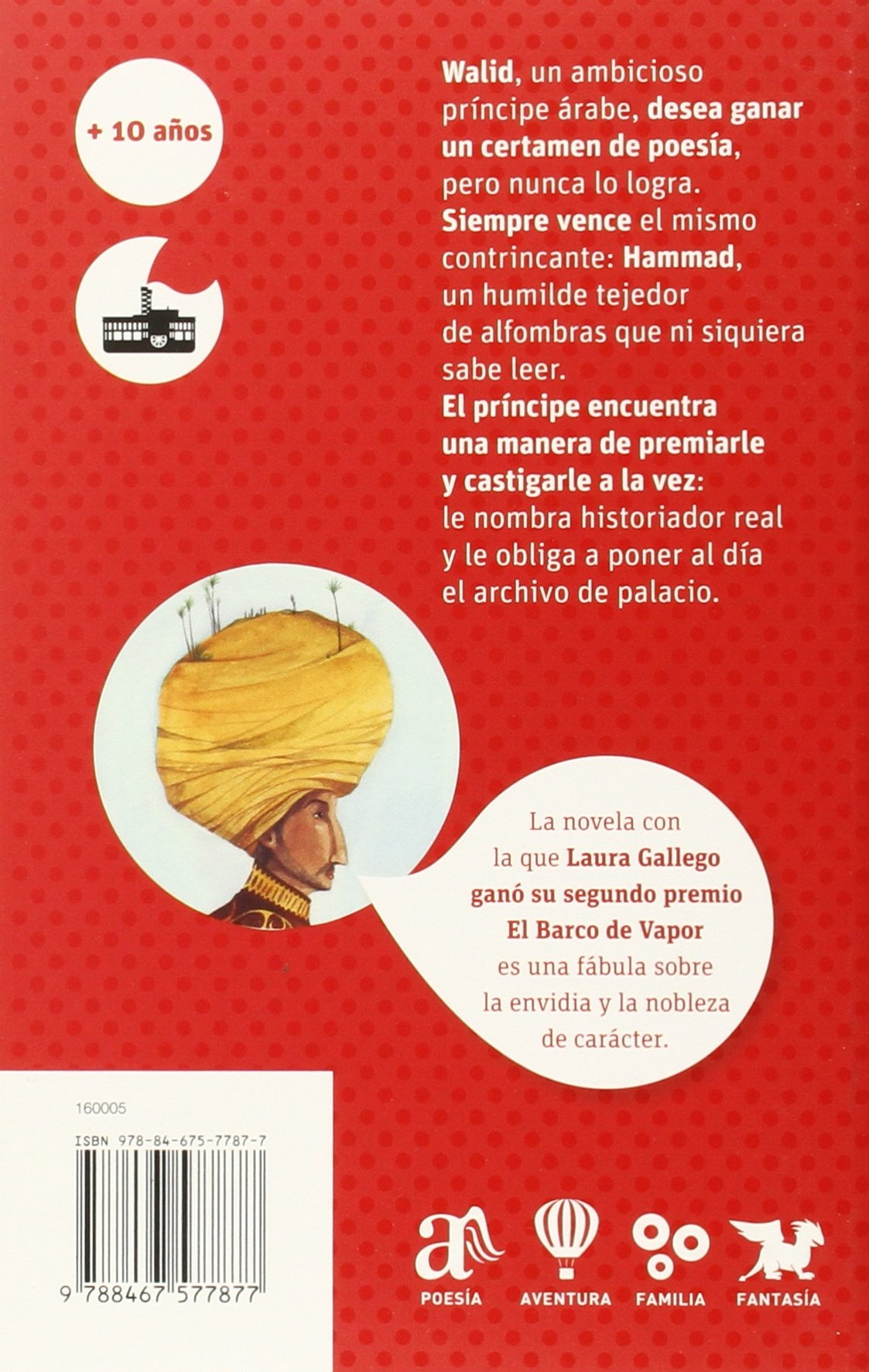 La leyenda del Rey Errante (El Barco de Vapor Roja): Amazon.es: Laura  Gallego, Daniel Montero Galán: Libros