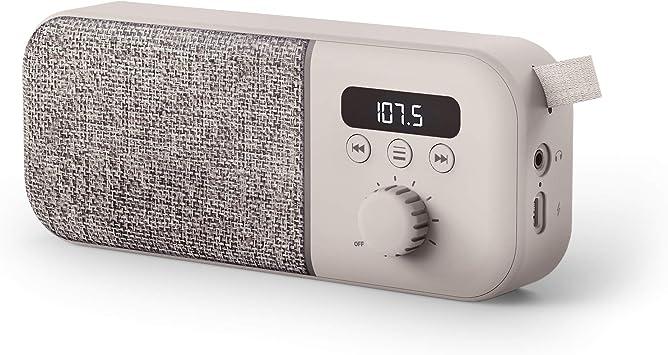 Energy Sistem Fabric Box Radio Altavoz portátil con Bluetooth ...