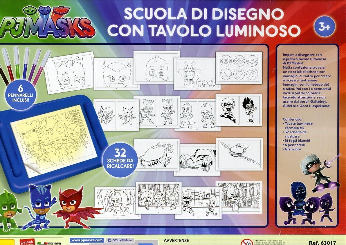 Escuela de Dibujo con Pizarra Luminosa Lisciani Giochi 63017, PJ ...