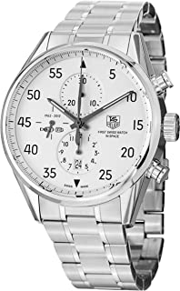Tag Heuer Carrera Space X Mens Stainless Steel Automatic Chronograph Limited Edition Watch CAR2015.BA0796