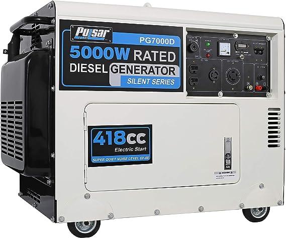 Amazon.com: Generador Pulsar Duel-Fuel, marco cerrado ...
