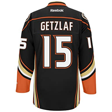 Ryan Getzlaf Anaheim Ducks  15 Black Home Premier Youth Jersey (Large X- d29eabcd9