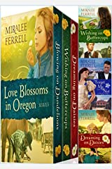 Love Blossoms in Oregon Boxed Set: Four Christian Historical Romances Kindle Edition