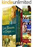 Love Blossoms in Oregon Boxed Set: Four Christian Historical Romances