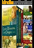 Love Blossoms in Oregon Boxed Set: Four Christian Historical Romances
