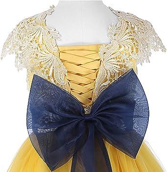 Amazon.com: Vestidos de princesa para niñas, vestidos de ...
