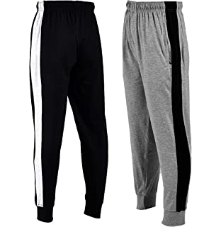 chopper club Boys Colorblocked Joggers in Pack of 2