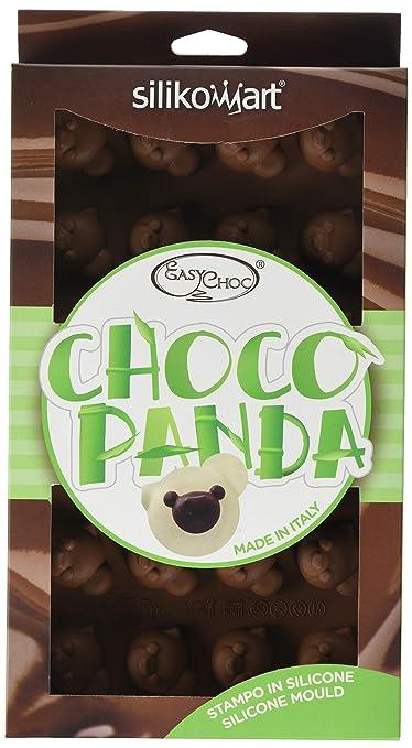 Silikomart SF141 Silicone Easy Chocolate Mold, Panda Bakeware Moulds & Tins at amazon