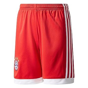 93f156c7b2c8 Bayern Munich 17 18 Enfants - Short de Foot Domicile - Rouge Blanc -