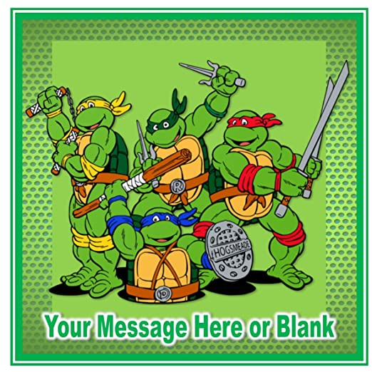 TMNT Teenage Mutant Ninja Turtles Happy Birthday ...