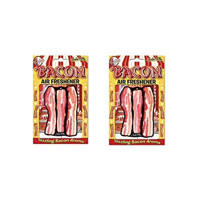 Accoutrements Bacon Air Freshener - Pack of 2: Home & Kitchen