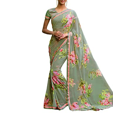 246cb6ca95 Image Unavailable. Image not available for. Colour: New Letest Designer  laxmipati saree Collection for women party wear
