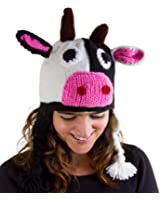 Handmade Animal Hat with matching gloves and scarf for large children, range of animals available