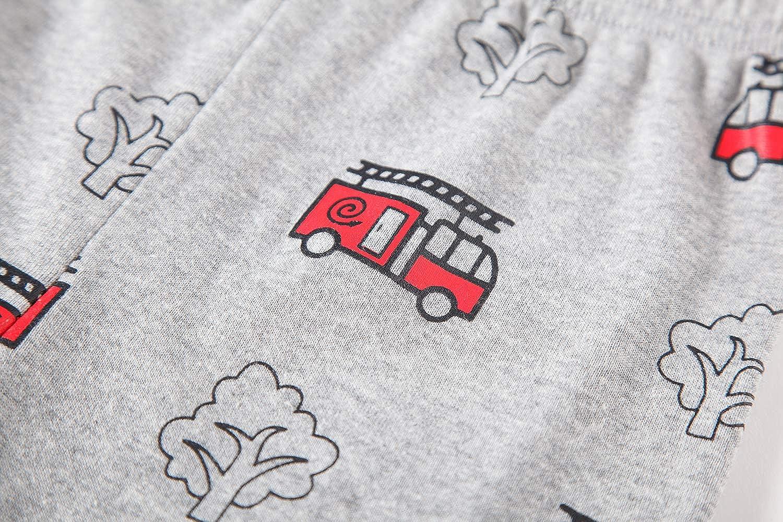 98 104 110 116 122 128 134 Pyjama pour gar/çon pour Enfant 2 pi/èces Pyjama