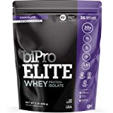 BiPro Elite Whey Isolate Protein Powder, Chocolate, 2 Pound