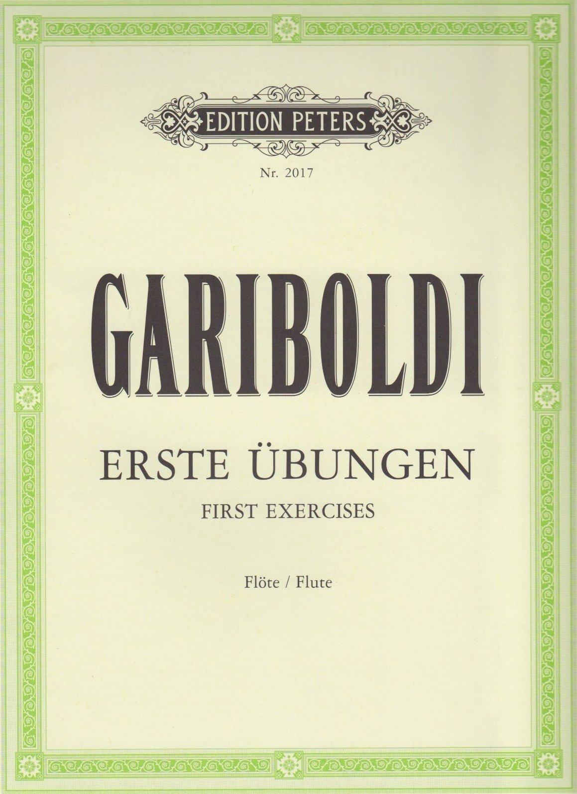 Die ersten Übungen: für Flöte (Allemand) Brochure – 1 janvier 2000 Giuseppe Gariboldi Peters B00006LU1N Musikalien