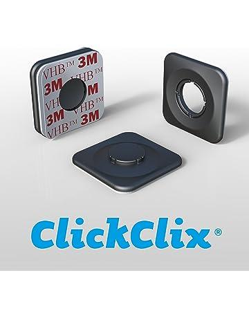 ClickClix Sistema de fijación Ideal Via-t Telepeaje Teletac 41ac76d5073