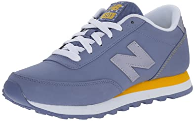 Womens Shoes New Balance Classics 501 - Composite Purple/Yellow