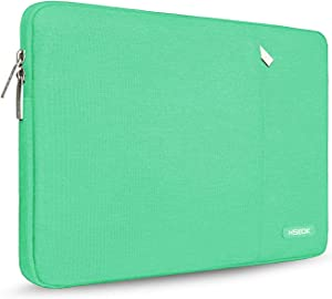 Hseok 15.6-Inch Laptop Case Sleeve, Spill-Resistant Case for 15.4-Inch MacBook Pro 2012 A1286, MacBook Pro Retina 2012-2015 A1398 and Most 15.6-Inch Laptop, Light Green