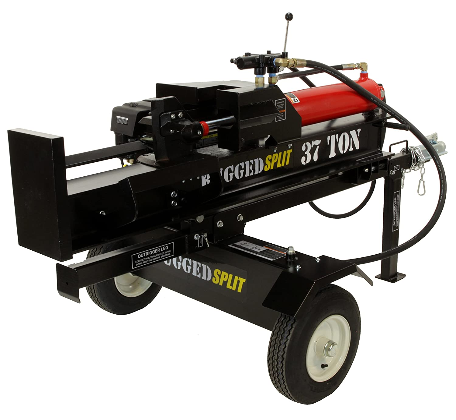 rugged made log splitter reviews