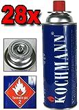28 Cartouches de gaz butane pour réchaud camping gaz