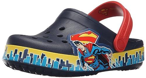 7e5d5ff0560a0 crocs Crocband Superman K Clog (Toddler Little Kid)