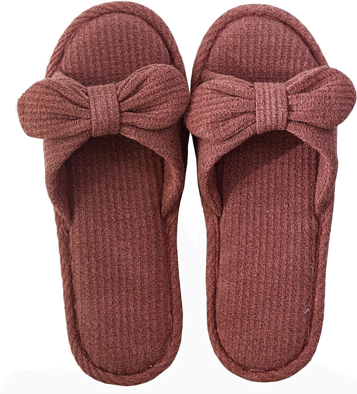xsby Unisex Cute Soft Sole Indoor Bedroom Slippers Beautiful Comfort Four Season Slipper