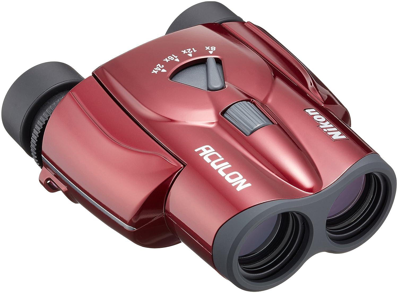 Nikon ズーム双眼鏡 アキュロンT11 8-24x25 ポロプリズム式 8-24倍25口径 レッド ACT11RD B008KHLTJ6 レッド レッド