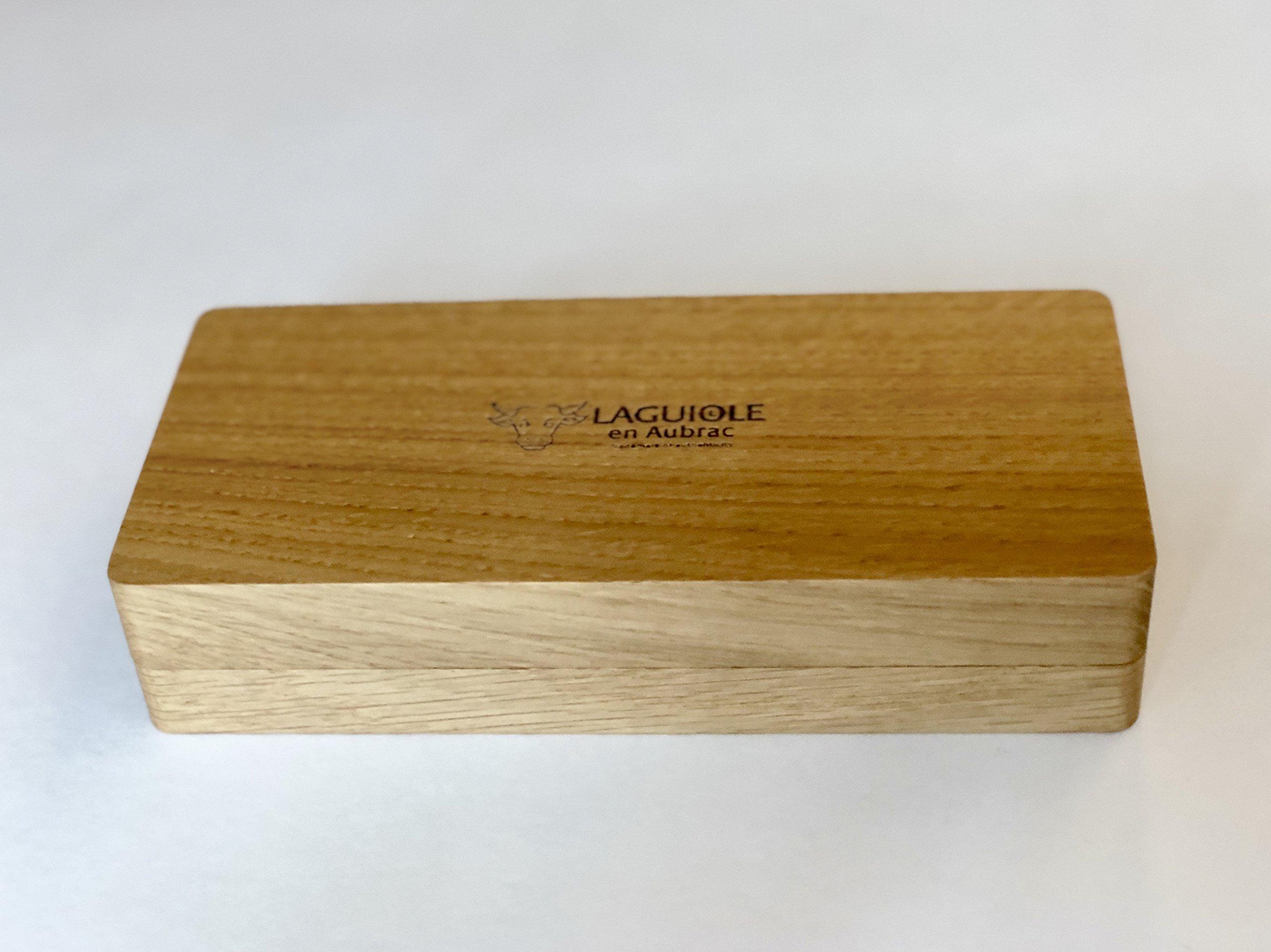 Laguiole an Aubrac Sommelier Waiter's Corkscrew, Croute de Belier Ram Crust Handle by Laguiole an Aubrac
