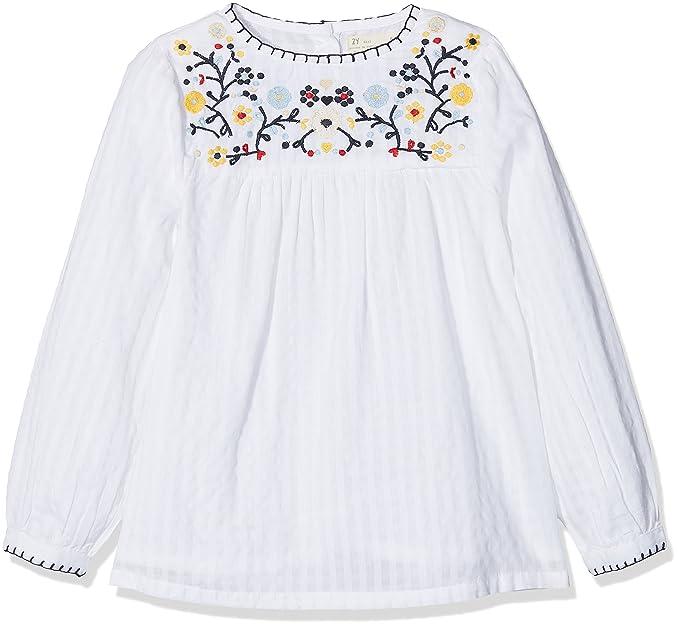 Zippy ZG14_430_15, Blusa para Niñas, Blanco (White), 2 años (Tamaño