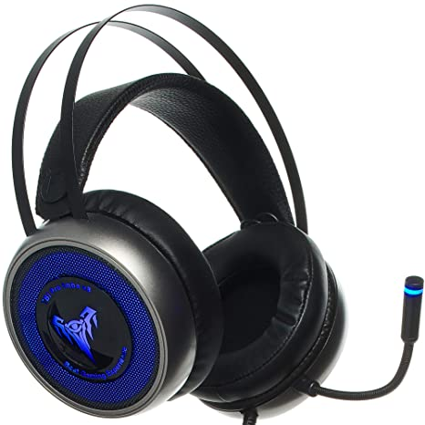 Best Pc Gaming Headset 2020.V8 Imba Pro Gaming Headset For 3d Surround Sound Dynamics Ps4 Xbox One Headset Noise Cancelling Mic Gaming Chat Headset Over Ear Gaming
