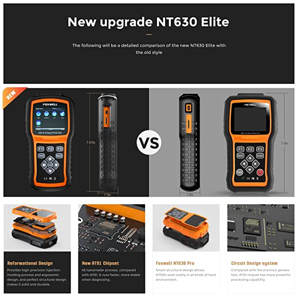 The New NT630 Elite is a powerful diagnostic scanner for your car.