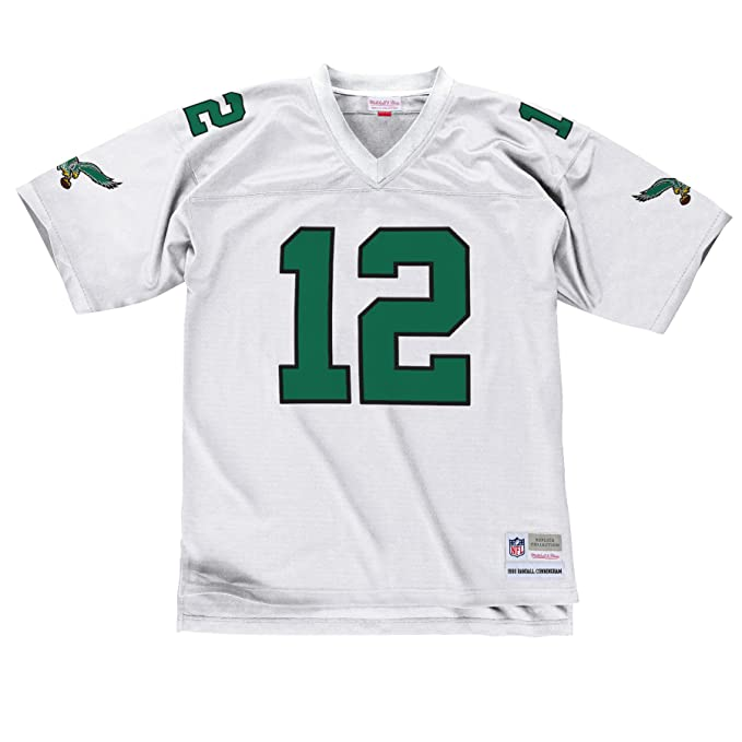 competitive price 6fd67 cdb0e Philadelphia Eagles Mitchell & Ness 1990 Randall Cunningham #12 Replica  Throwback Jersey - White