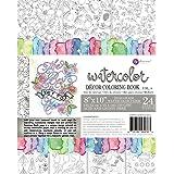 Amazon.com: Prima Marketing 585723 8x10 Watercolor Coloring Book