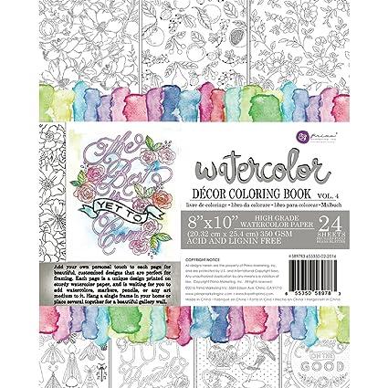 Amazon.com: Prima Marketing Coloring Book Vol. 4