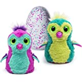 Interactive Creature - Penguala - Teal/Purple or Yellow/Green Egg by Spin Master