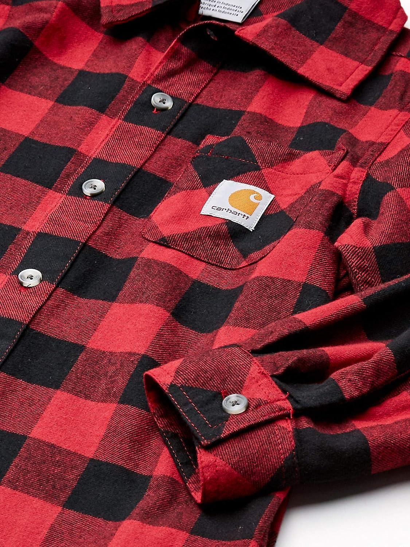 Carhartt Boys Big Plaid Flannel Shirt