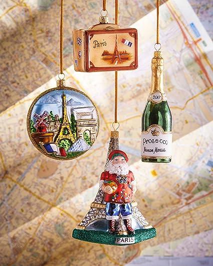 Neiman Marcus Paris Christmas Ornaments, Set of 4 - Amazon.com: Neiman Marcus Paris Christmas Ornaments, Set Of 4: Home