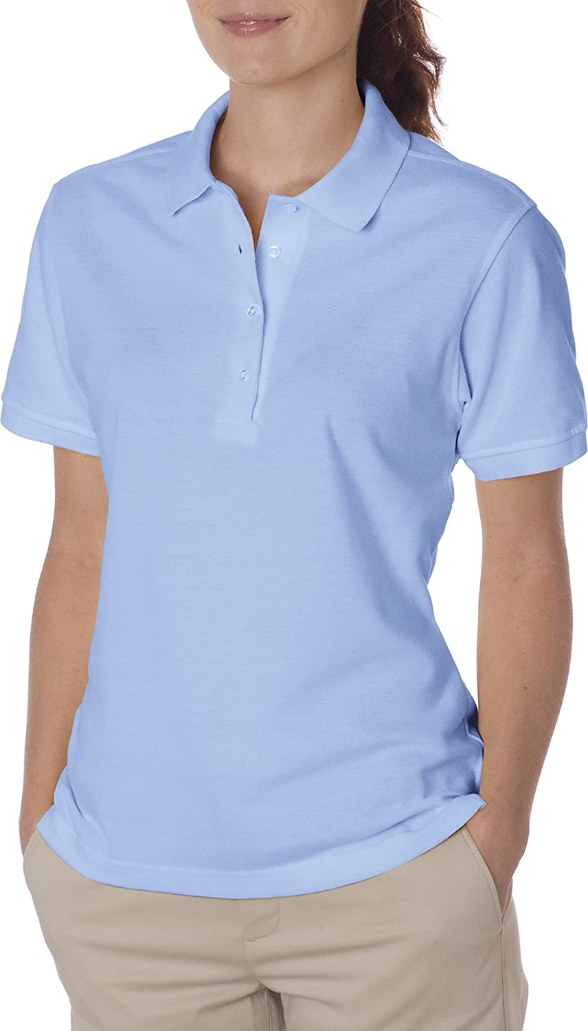 Jerzees Ladies' Jersey Polo with SpotShield at Amazon Women's Clothing  store: