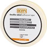Boma B43000100005 Nastro Biadesivo Economico per Ganci e Profili, Uso Indoor, 9mm x 3mt